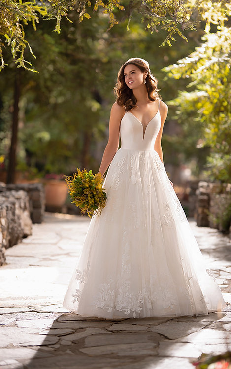 Shae Essense Bridal Studio Tulle lace ball gown
