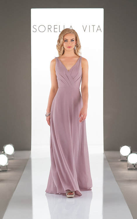 Edinburgh sorella vita bridesmaids v neck bridal studio