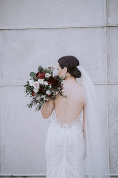 Maylie wears 'Zelensia' by Hera Couture  Photography by David Le Hair by Specta Flowers by Eden Floristry Makeup by Beauty on George