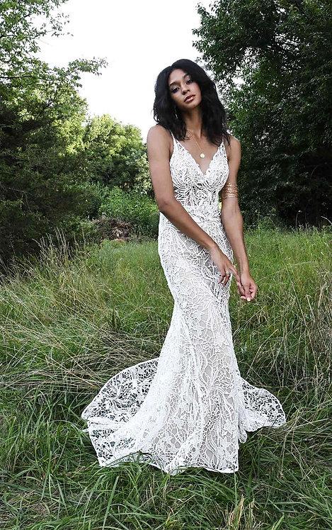 bodhi lace boho full lace all who wonder bridal studio