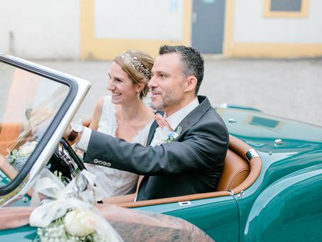 Caroline & Christian - Schlosshochzeit mit Taufe