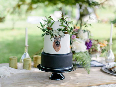 Black Forest Wedding Styled Shoot