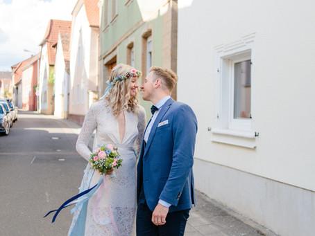 Sylvie & Jannis - sommerliche DIY-Hochzeit in der Pfalz