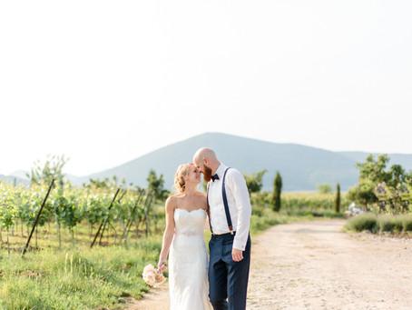 Lena & Patrick - moderne Hochzeit im Weingut