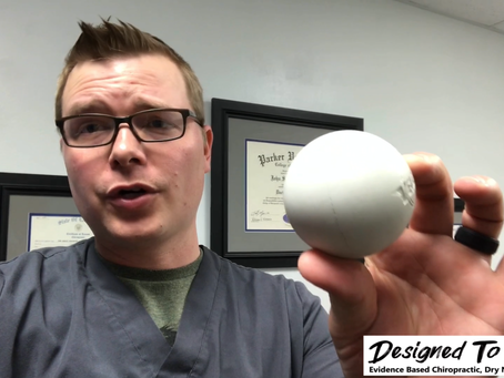 Lacrosse Ball Self Massage For Sore Muscles!