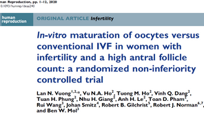 The results are out between New IVM vs. IVF.   IVF still better, but IVM getting closer!
