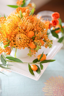 Kumquat Centerpieces