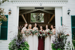 bridesmaids hardy farm barn