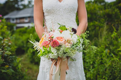 boho chic bridal bouquet