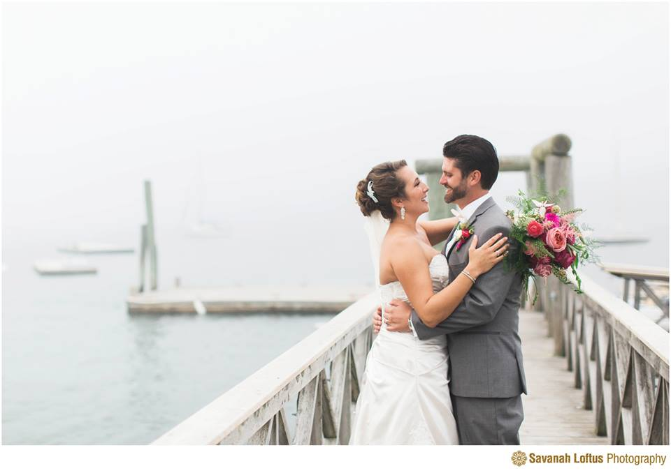 Peaks Island Portland Maine Wedding