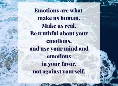 Emotions make us human