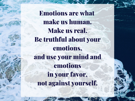 Emotions make us human