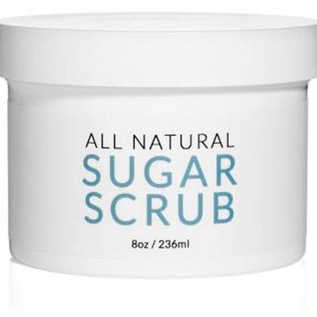 All Natural Oil Free Sugar Scrub