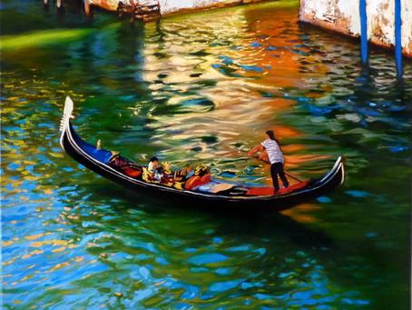 Romantiskās Venēcijas noskaņas Kuldīgā