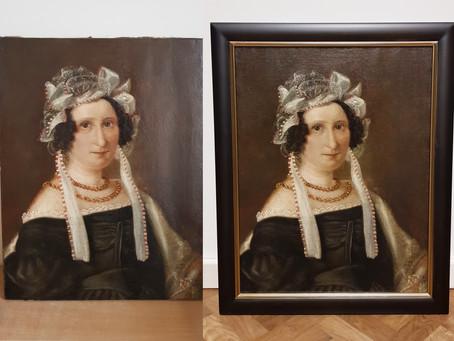 Muzejs turpina uzlabot krājumā esošo gleznu stāvokli