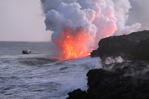 HAWAII VOLCANOES AUGUST