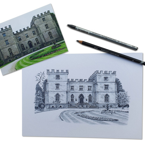 Sketch_with_Photo_5_ClearwellCastle_Whit