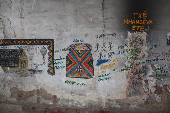 Maracana Village Wall Painting