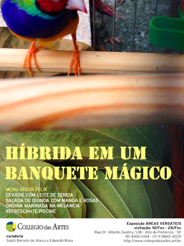 Hybrida Banquet Invite