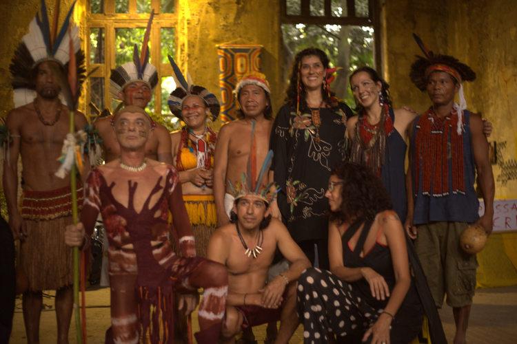 With Maracana village