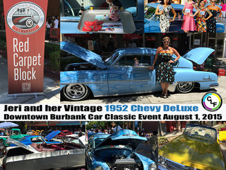 Vintage Cars and Beautiful People: Downtown Burbank Car Classic