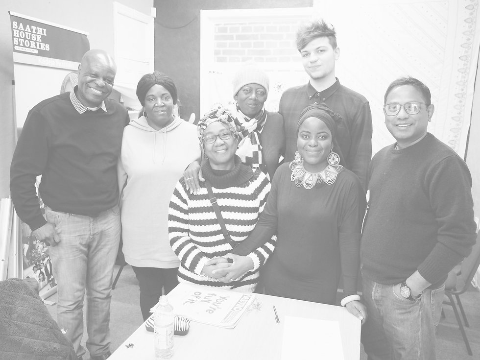 Saathi House Migrant Media Newsroom with Migrant Voice