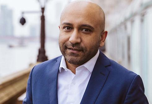 Journalist Hasan Patel photo by Victoria