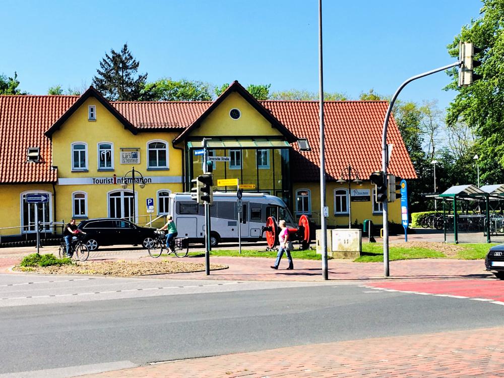 Bahnhof in Schortens Foto: Axel Homfeldt