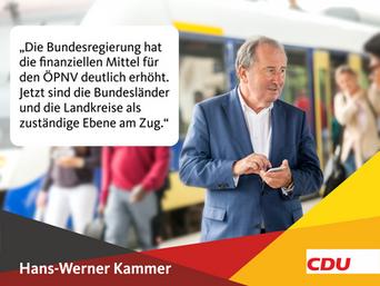 Gute Gründe, Hans-Werner Kammer zu wählen
