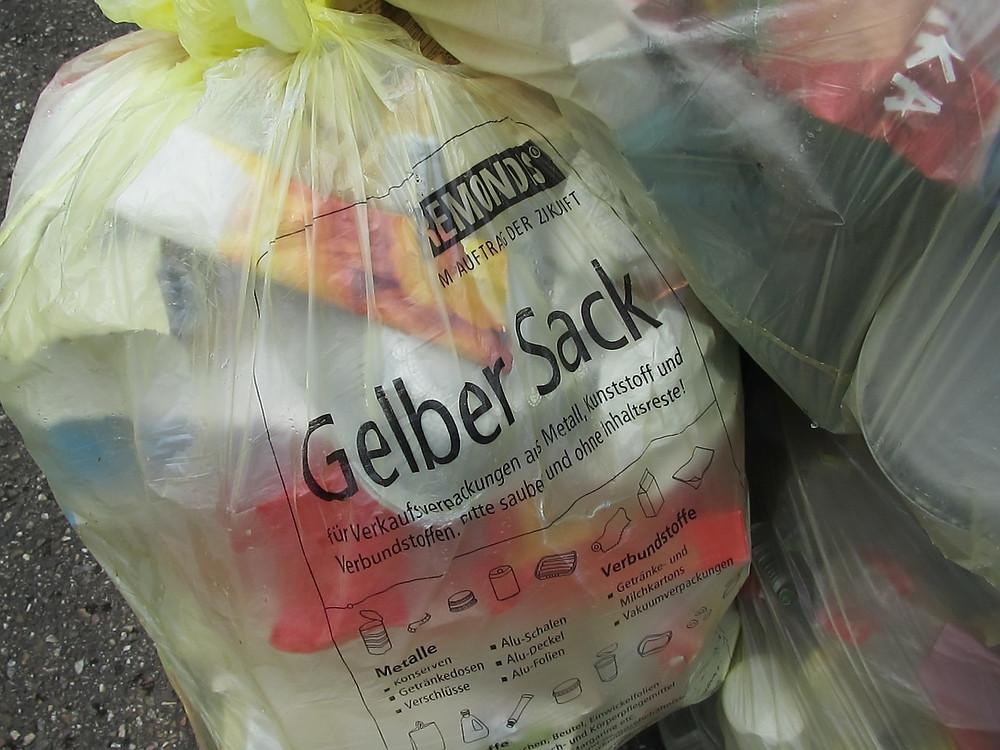 Gelber Sack/PIXABAY
