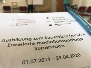 Bald auch Supervision in Angebot