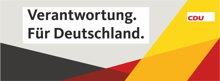 CDU Schortens. Verantwortung. Für Deutschland.