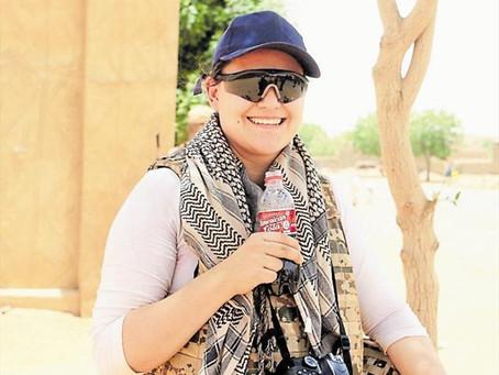 Auf dem Weg ins ferne Mali  Pia Miranda berichtet über UN-Mission Minusma