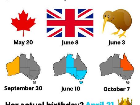 Queen's Birthday、どうして他のところと違う日なの?