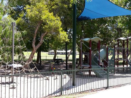 囲いのあるプレイグラウンド ⑦Allen Park, Swanbourne