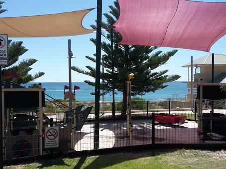 囲いのあるプレイグラウンド ⑥Swanbourne Beach Playground,Swanbourne