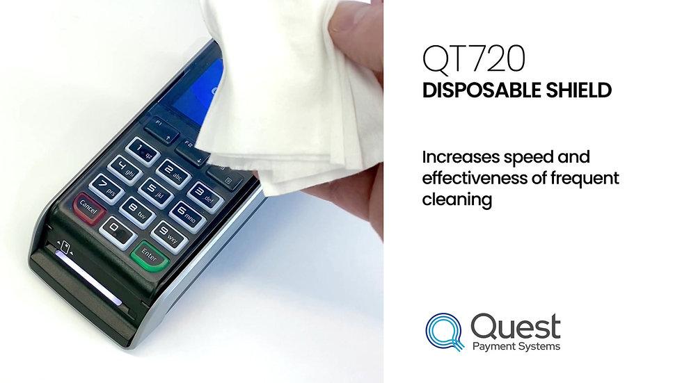 QT720 Disposable Shield - 25 Pack