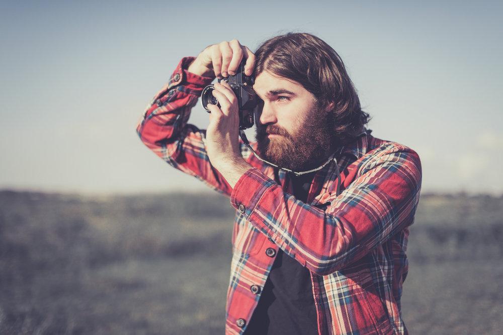 Mens Long Length w/beard