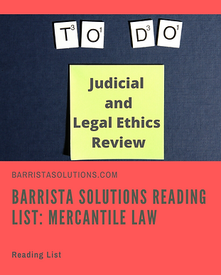 Judicial and Legal Ethics Reading List.p