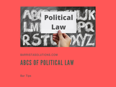 ABCs of Political Law