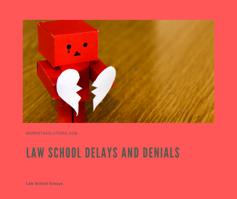 We may encounter delays and setbacks in Law School but these should not be the reason stop pursuing your dream of becoming a lawyer.