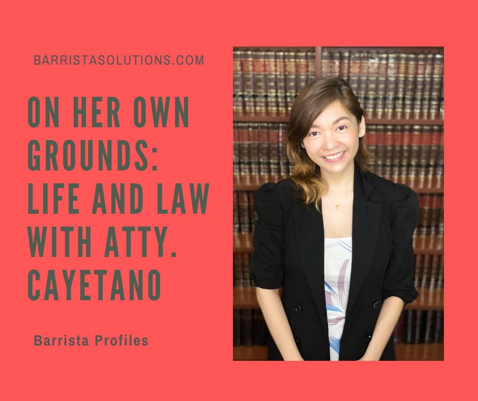 Atty. Marian Cayetano- a graduate of University of Batangas talks about her journey in pursuing Law Studies.