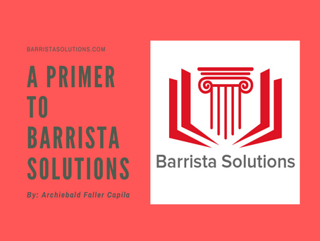 A Primer to Barrista Solutions