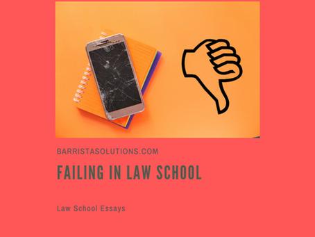 Failing in Law School