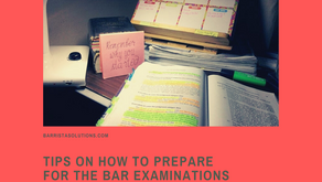 Bar 101: Tips on How to Prepare for the Bar Examinations