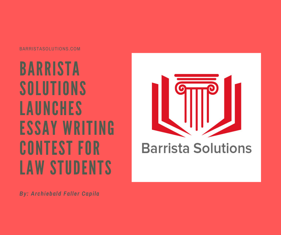 Essay writing contest for Law Students in the Philippines