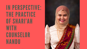 In Perspective: The Practice of Shari'ah with Counselor Nandu