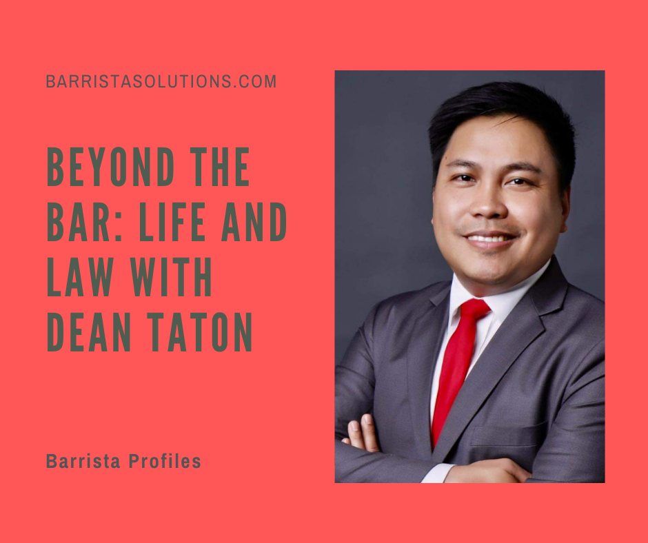 Dean Taton,- The Dean of San Sebastian School of Law discusses how teaching and studying law changed during the pandemic. He also shares insights on pursuing further studies after qualifying for the Bar Exams.