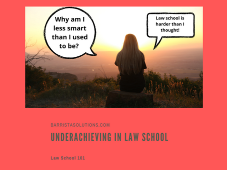 Underachieving in Law School