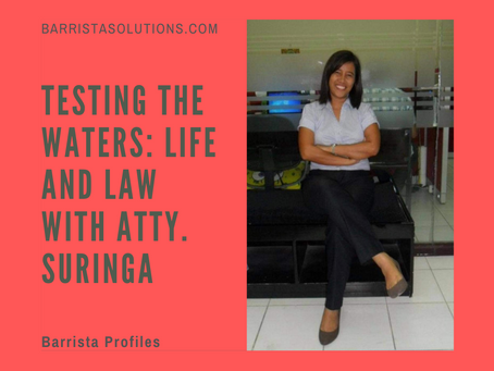 Testing the Waters: Life and Law with Atty. Suringa